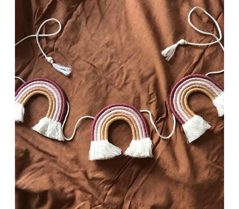 Cotton Design - Regenboog Slinger