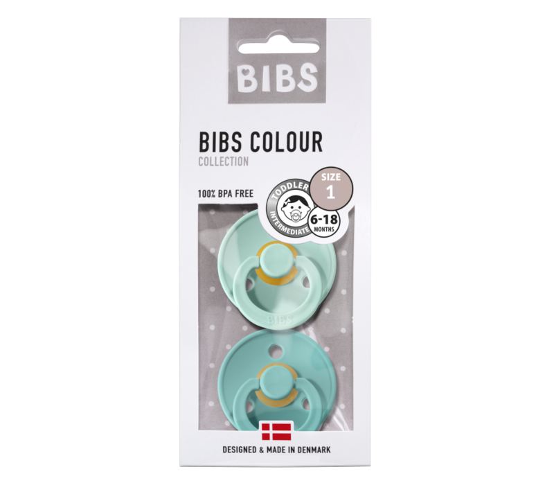 Bibs T1 - 2Pack Mint/Turqouise