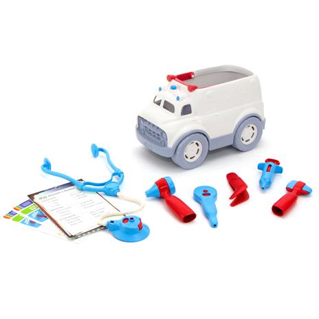 GreenToys Green Toys - Ambulance en doktersset