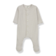 1+ in the family 1+ in the family - Delphine jumpsuit with feet ecru