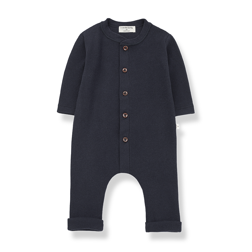 1+ in the family 1+ in the family - Lomond jumpsuit blue notte