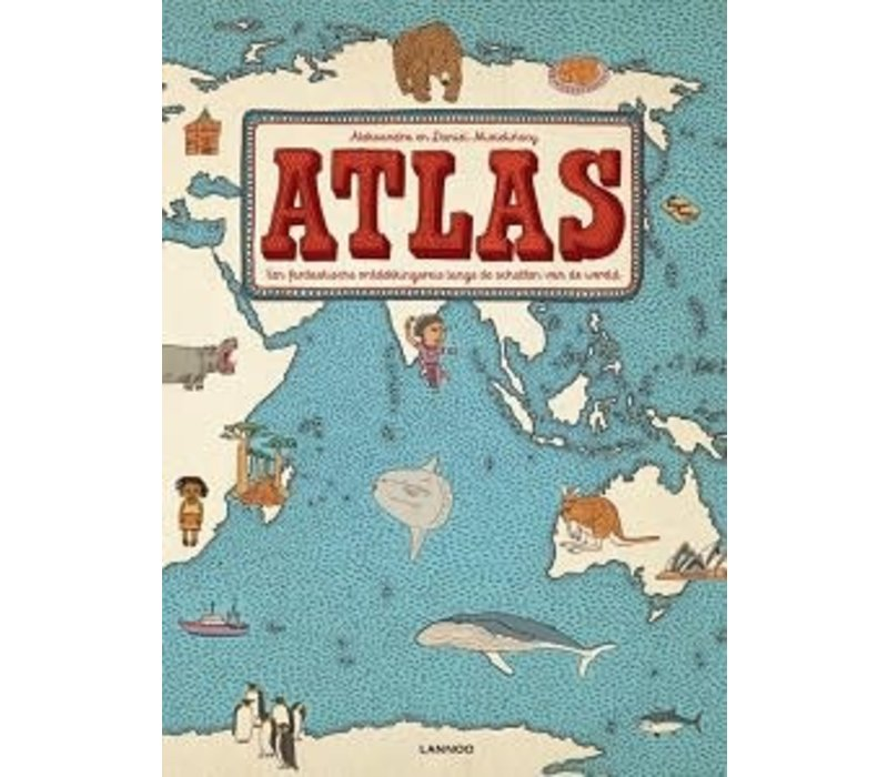 Boek - atlas
