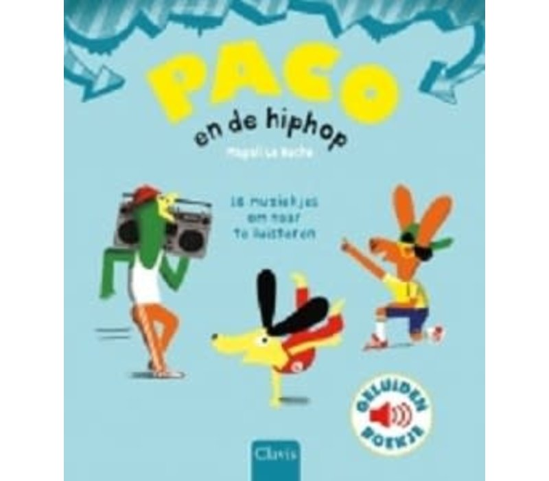Boek - Paco en de hiphop