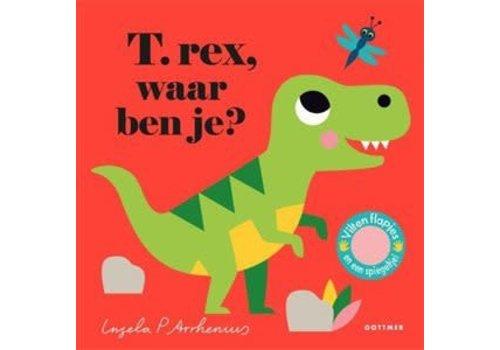 Boeken Waar ben je? - Prentenboek T.rex