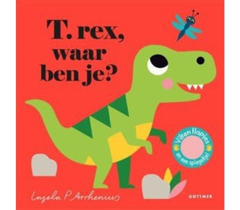 Waar ben je? - Prentenboek T.rex