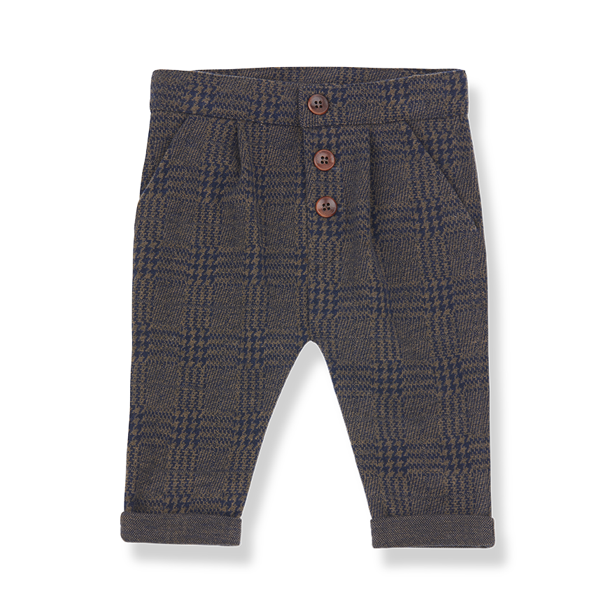 1+ in the family 1+ in the family - Boulder pants terrau/blue notte