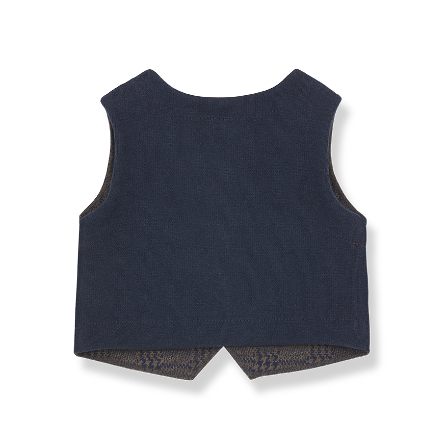 1+ in the family 1+ in the family - Denali vest terrau/blue notte