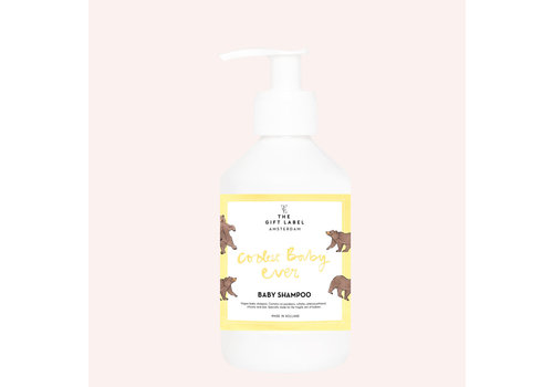 The gift label The Gift Label -  Baby shampoo 250ml - Coolest baby ever