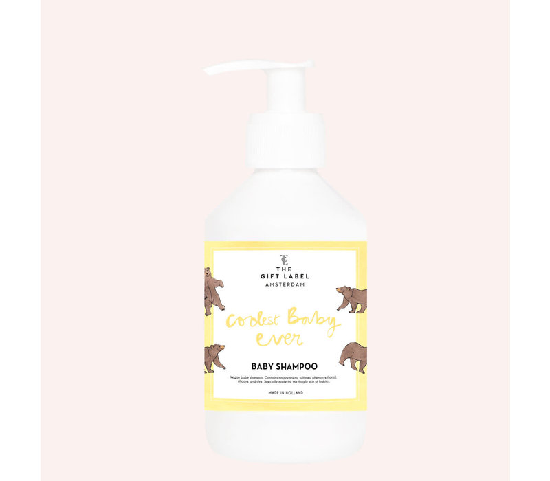 The Gift Label -  Baby shampoo 250ml - Coolest baby ever