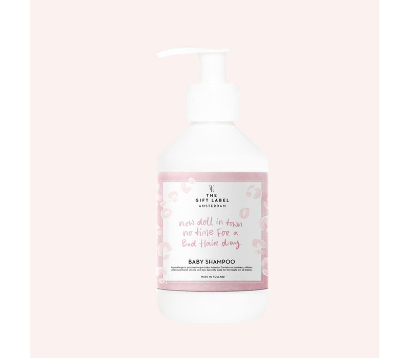 The Gift Label -  Baby shampoo 250ml - new doll