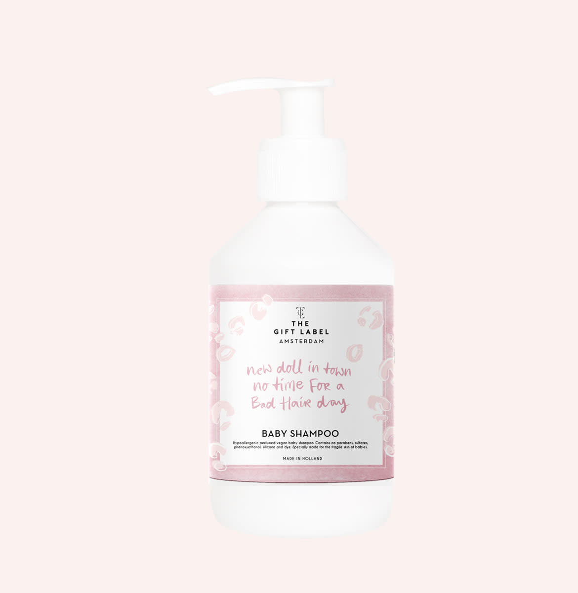 The gift label The Gift Label -  Baby shampoo 250ml - new doll