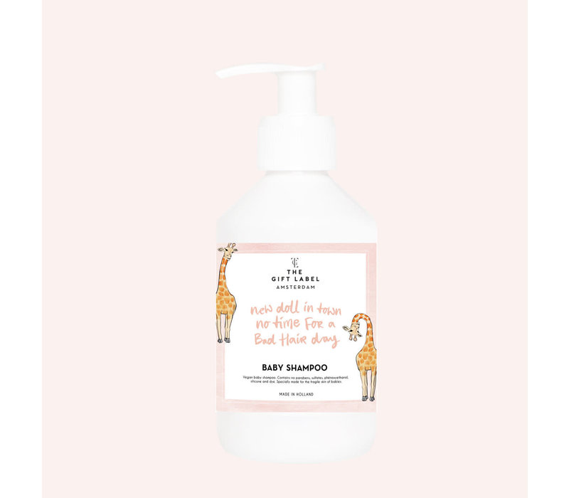 The Gift Label -  Baby shampoo 250ml - new doll in town