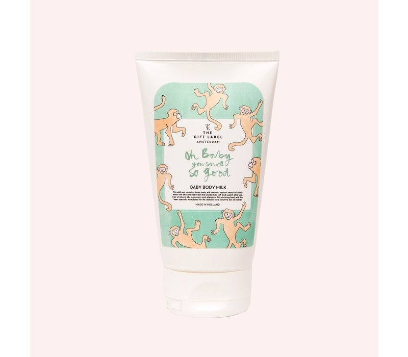 The Gift Label - Baby body milk - Oh baby you smell so good