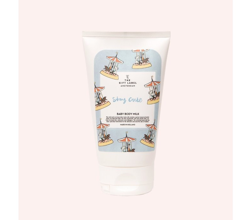The Gift Label - Baby body milk - Stay cute