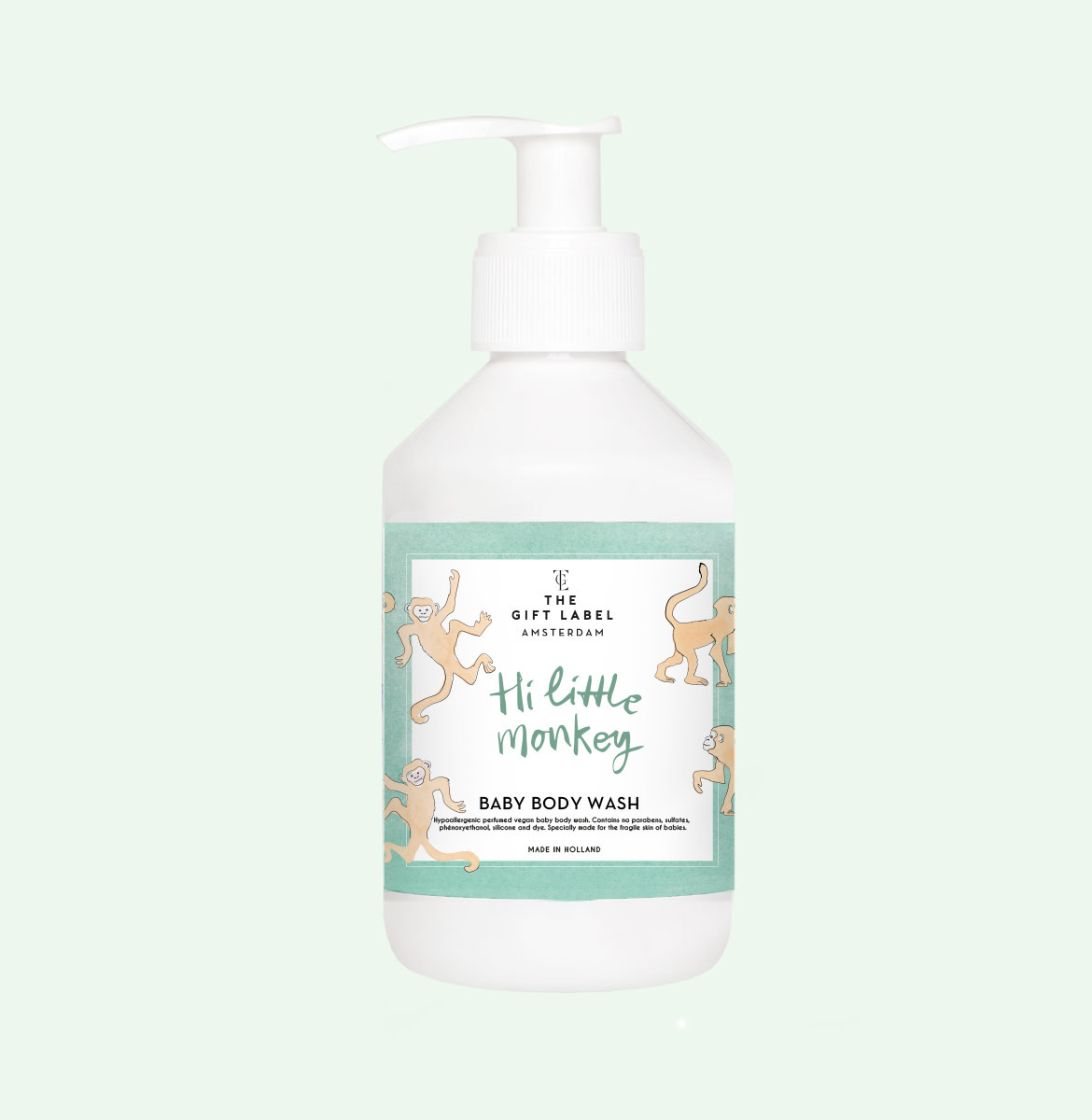 The gift label The Gift Label - Baby body wash 250ml - Hi little