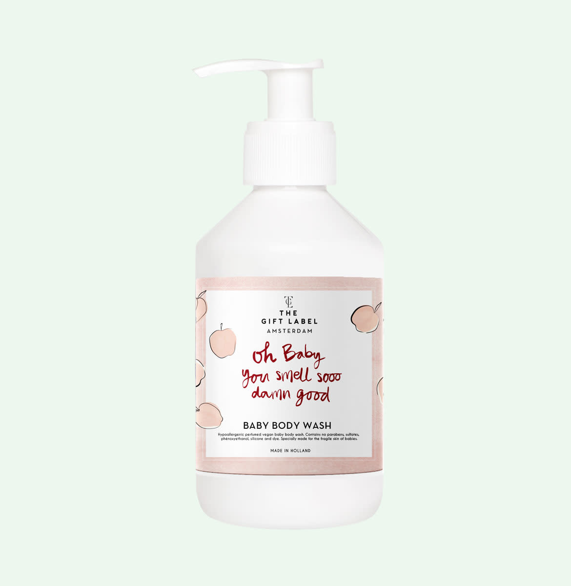The gift label The Gift Label - Baby body wash 250ml - Oh baby you