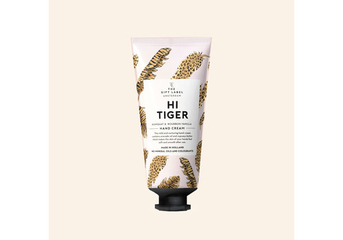 The gift label The Gift Label - Hand cream tube - Hi tiger