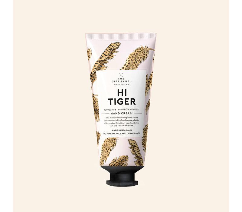 The Gift Label - Hand cream tube - Hi tiger