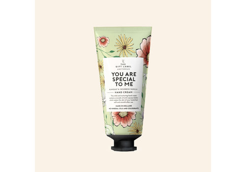 The gift label The Gift Label - Hand creme tube - You are special to me