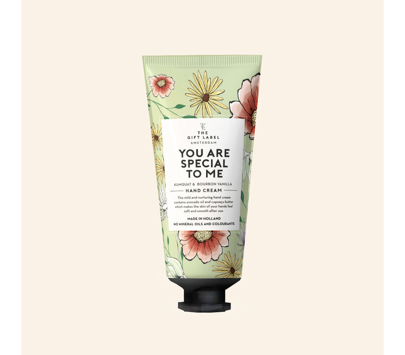 The Gift Label - Hand creme tube - You are special to me