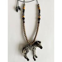 Bymelo - Ketting Zef de Zebra
