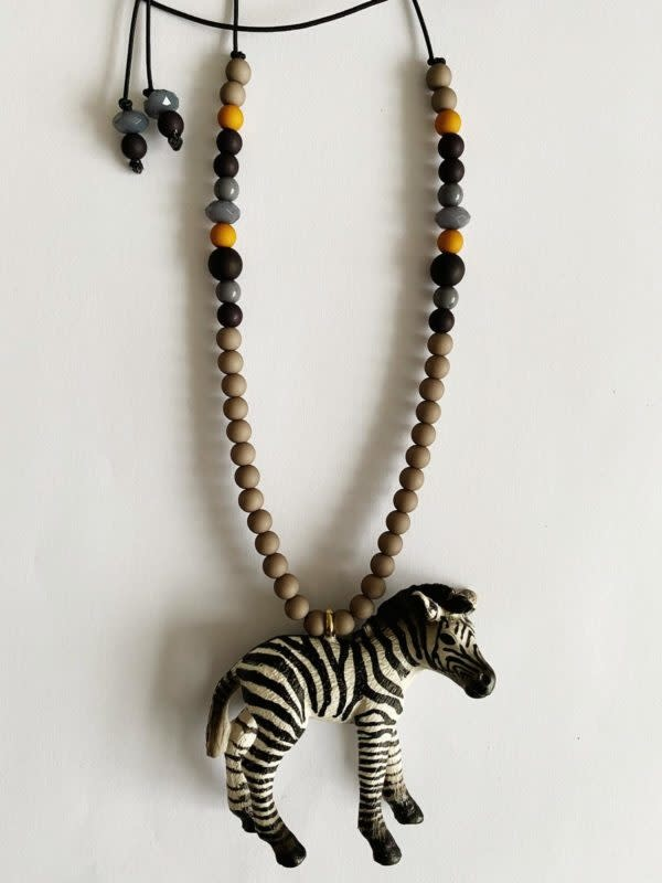 Bymelo Bymelo - Ketting Zef de Zebra