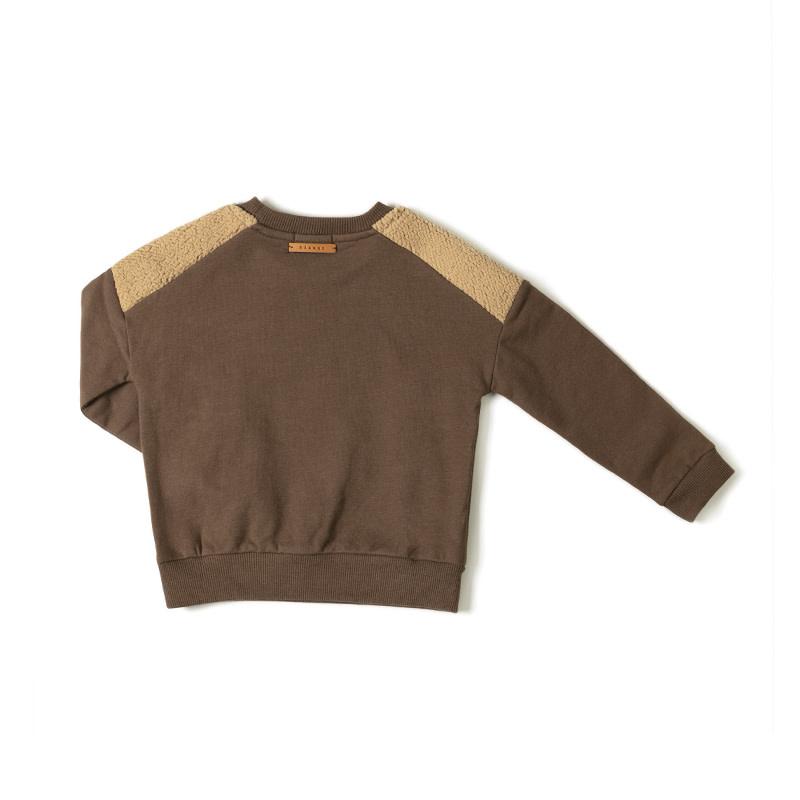 Nixnut Nixnut - Par sweater choco