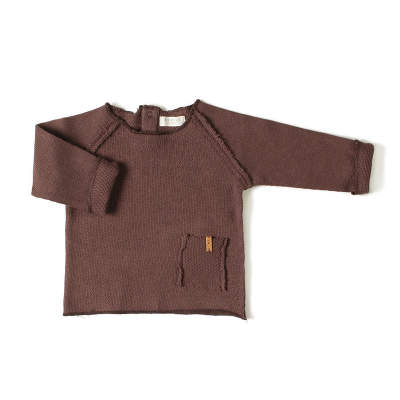 Nixnut Nixnut - Raw shirt earth