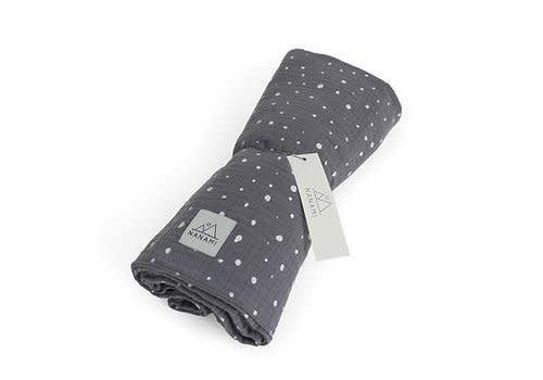 Nanami Nanami - baby diaper - dot grey