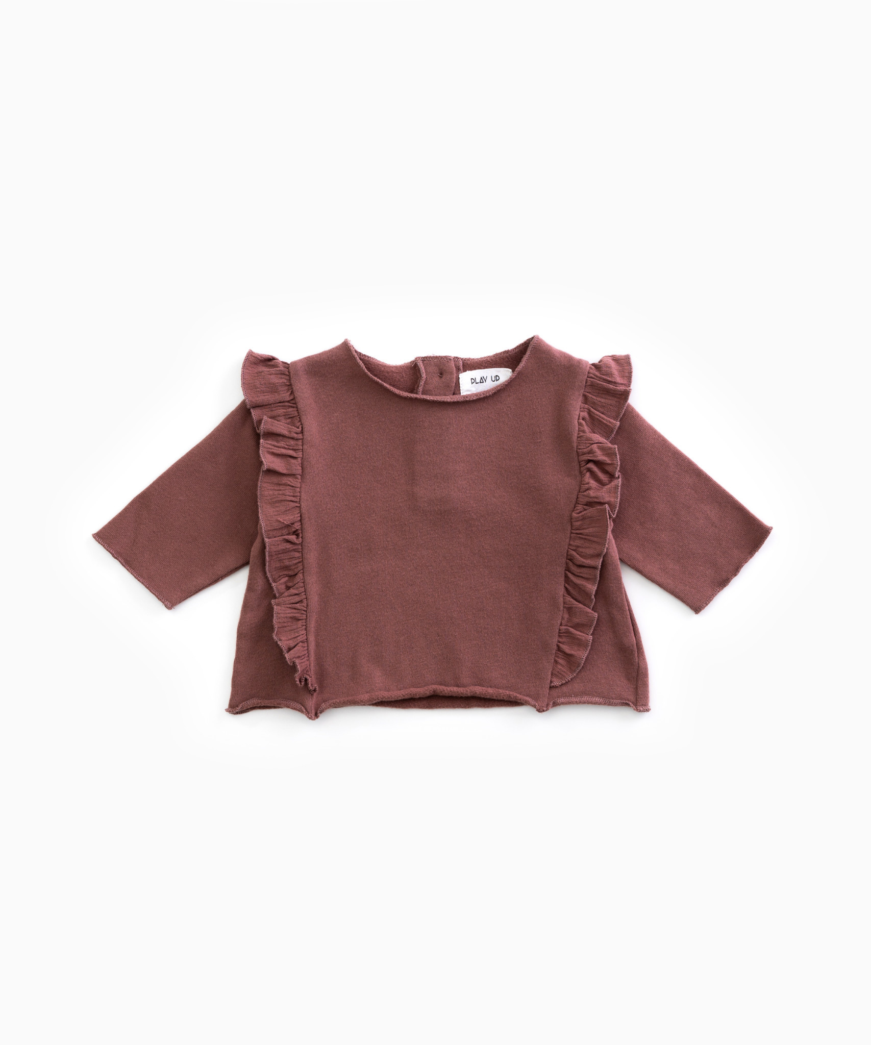 Play Up Play up - Fleece sweater purplewood