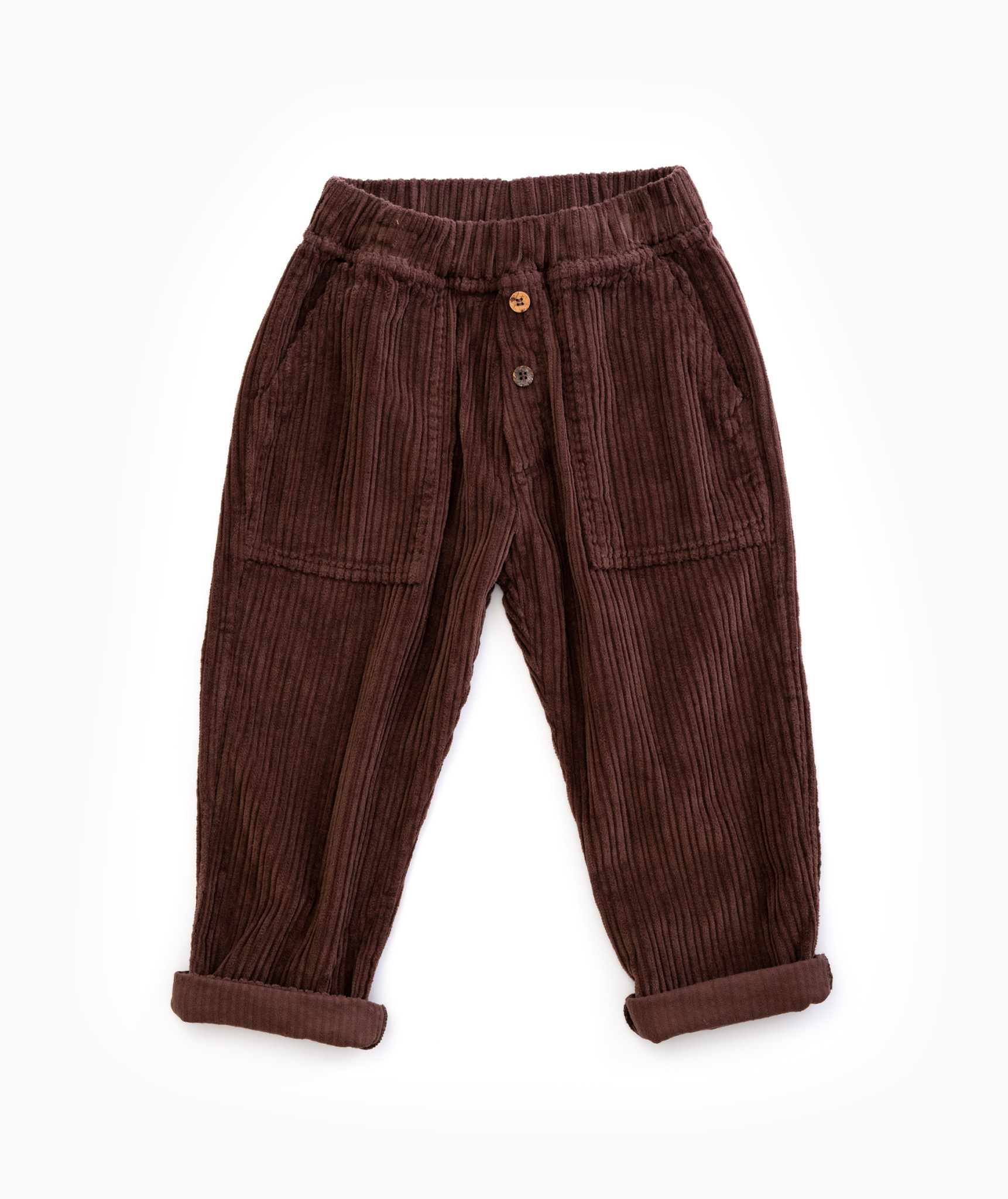 Play Up Play up - Corduroy trousers walnut