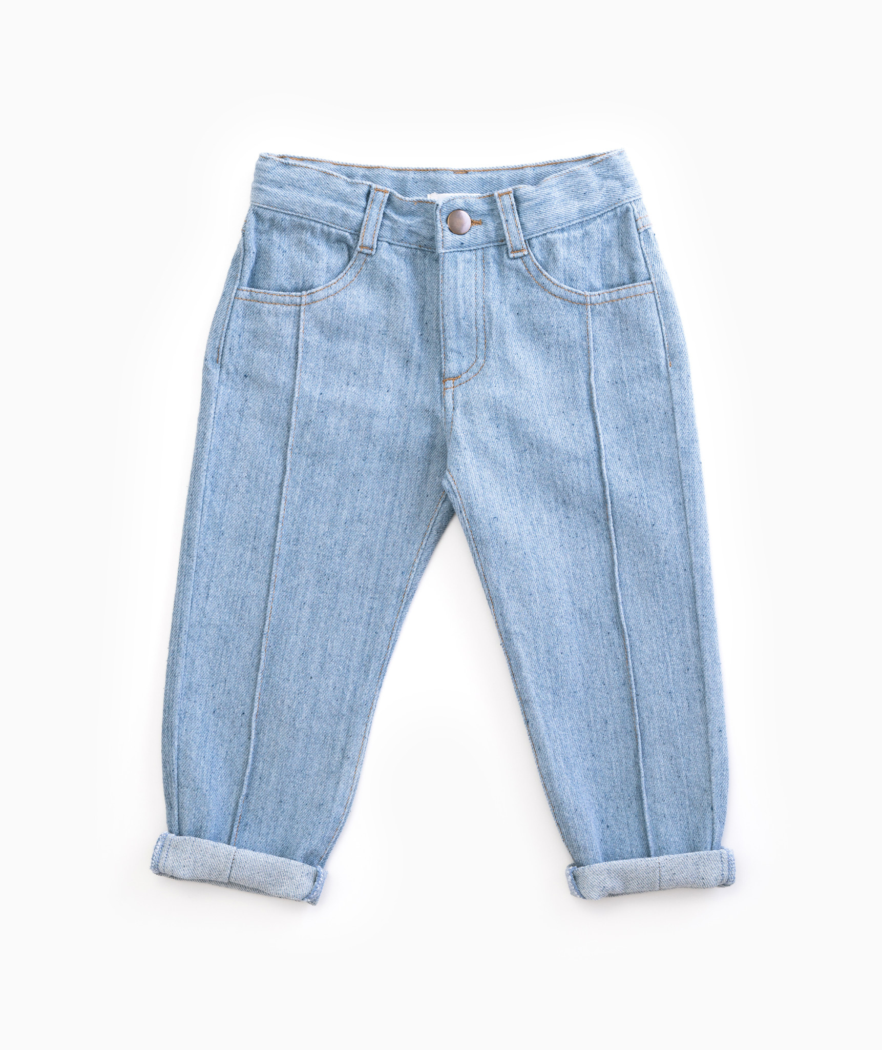 Play Up Play up - Recycled denim trousers