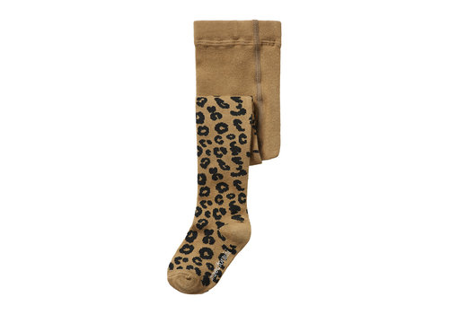 Maed For mini Maed for mini - Tights brown leopard aop