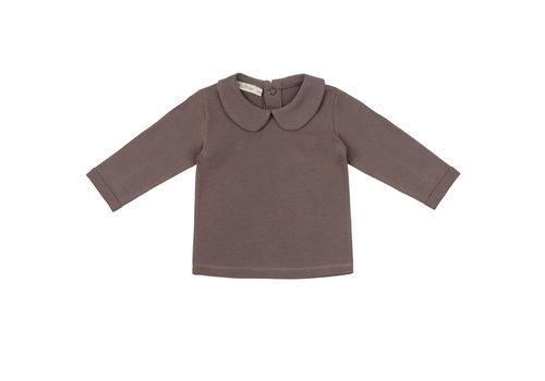 Phil&Phae Phil&phae -  Baby collar t-shirt heather