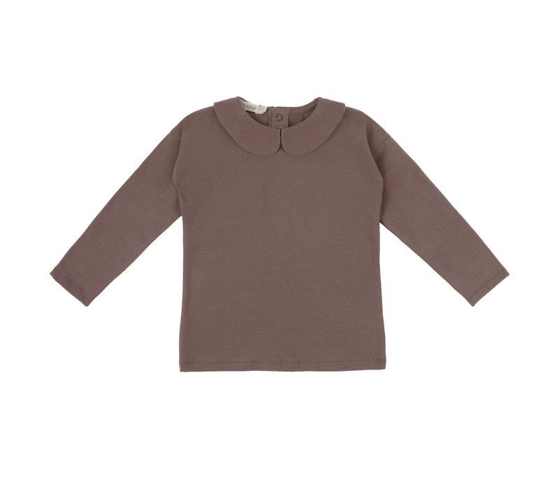 Phil&phae -  Collar t-shirt heather