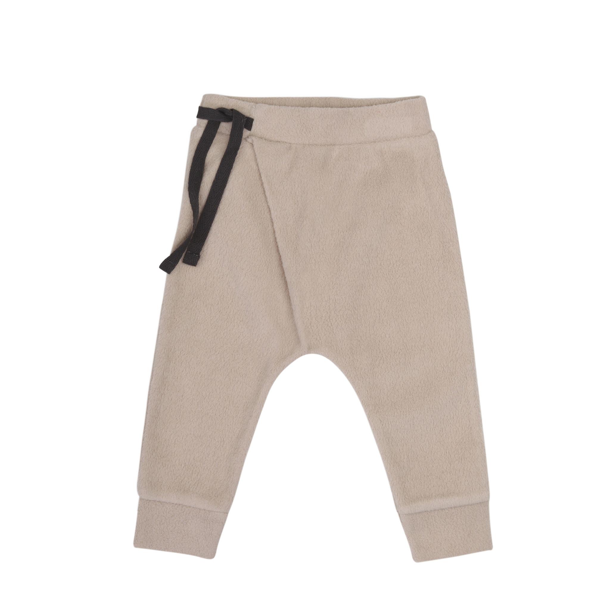 Phil&Phae Phil&phae - Teddy baby harem pants straw