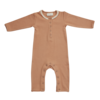 Blossom kids Blossom kids - Playsuit with lace deep toffee