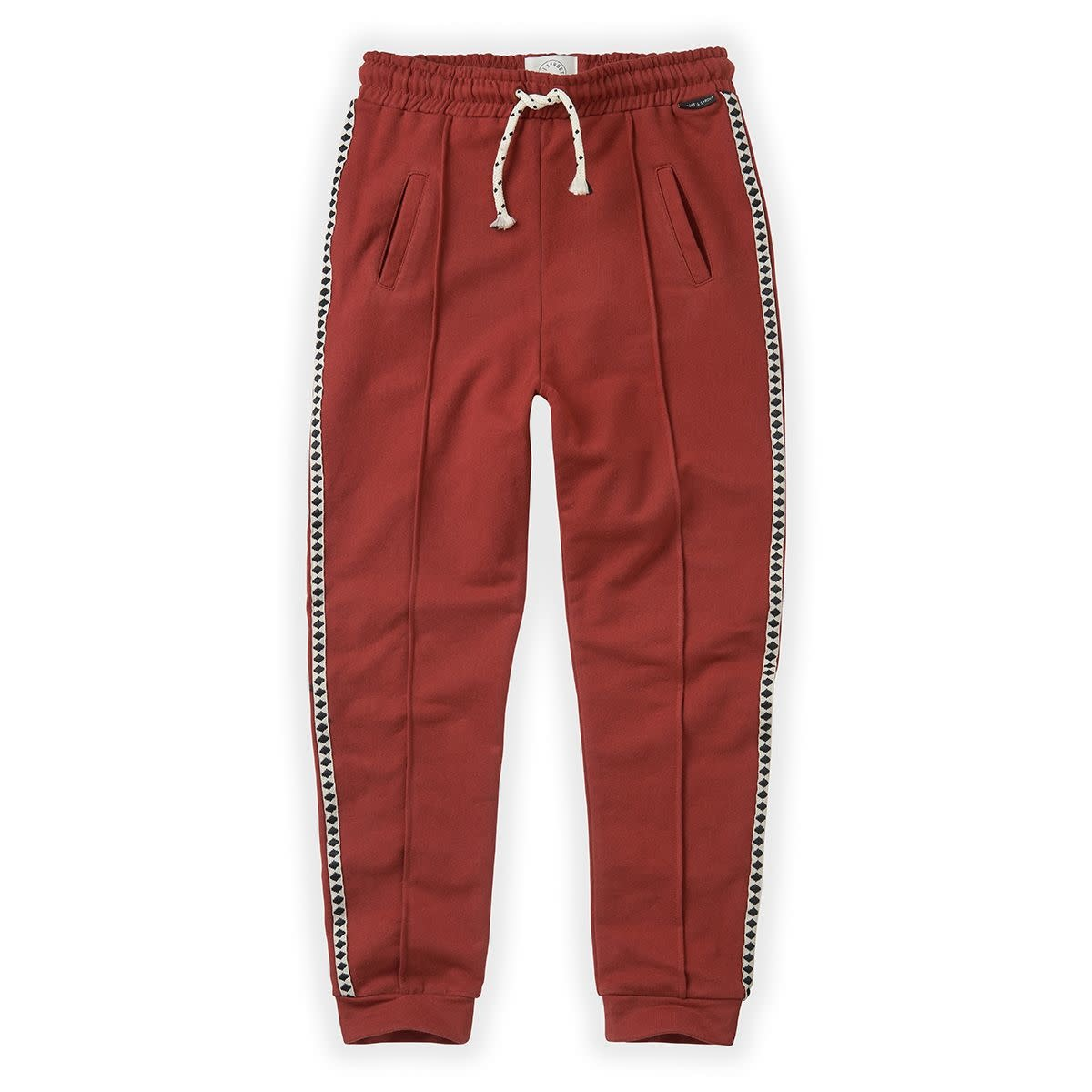 Sproet & Sprout Sproet&Sprout - Trackpants beet maroon