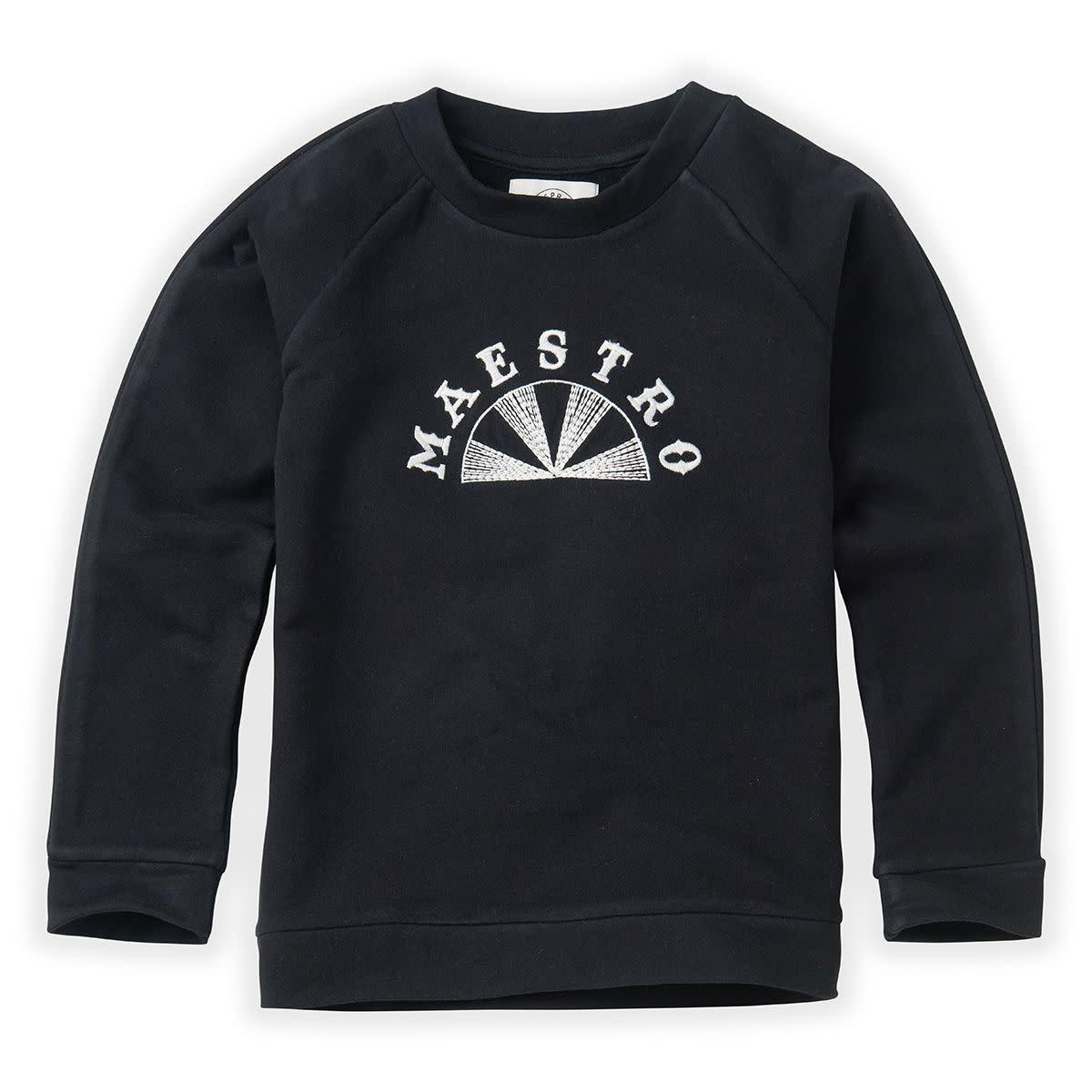 Sproet & Sprout Sproet&Sprout - Sweatshirt raglan meastro black