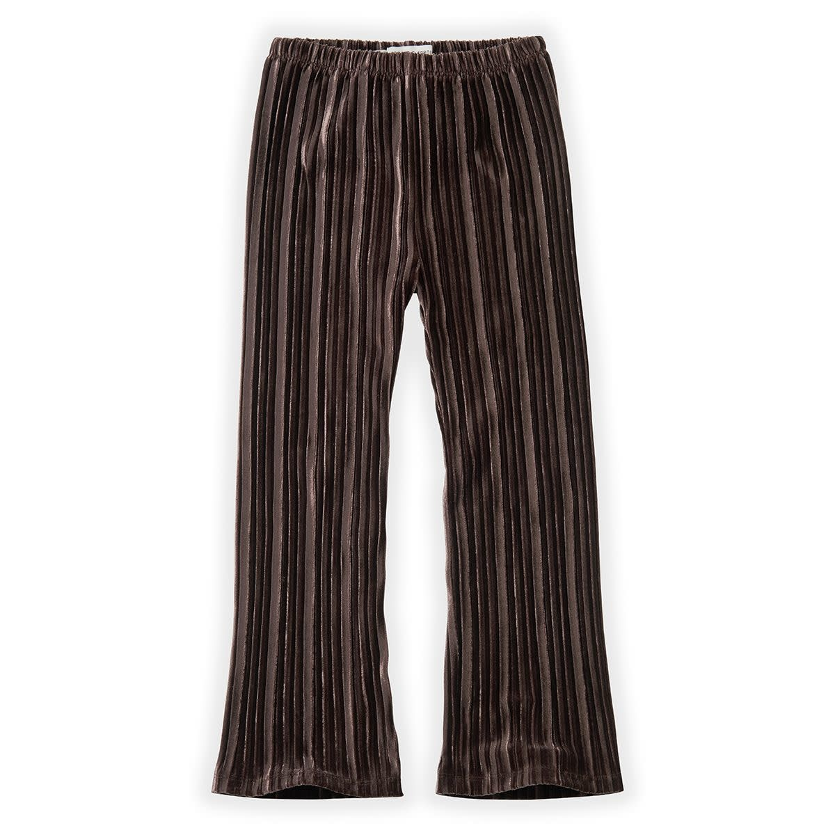 Sproet & Sprout Sproet&Sprout - Pants velvet pleats chocolate