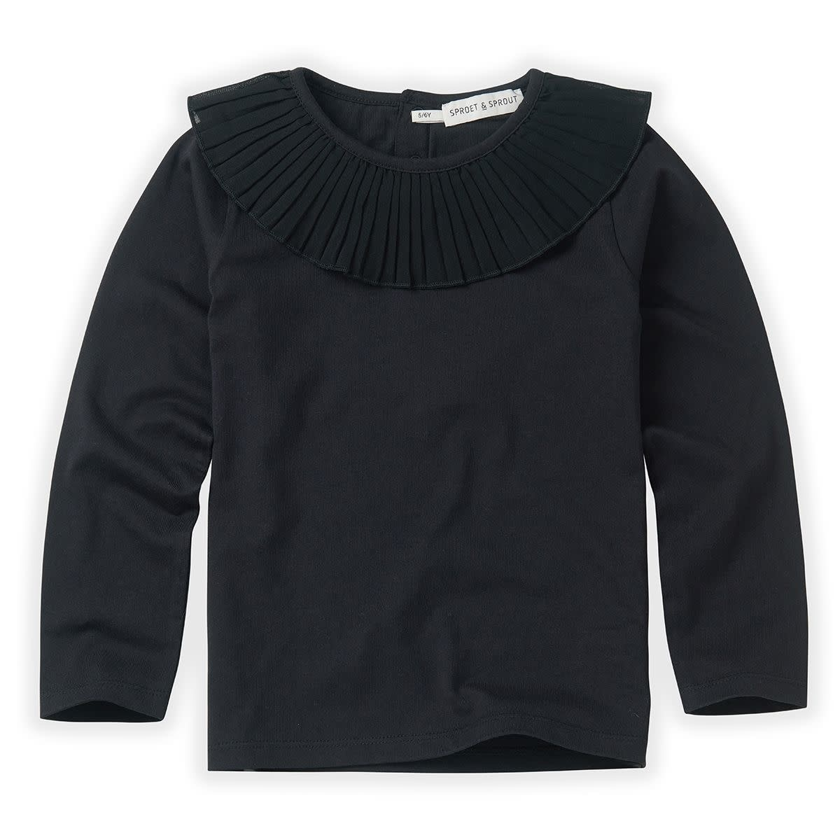 Sproet & Sprout Sproet&Sprout - T-shirt collar black