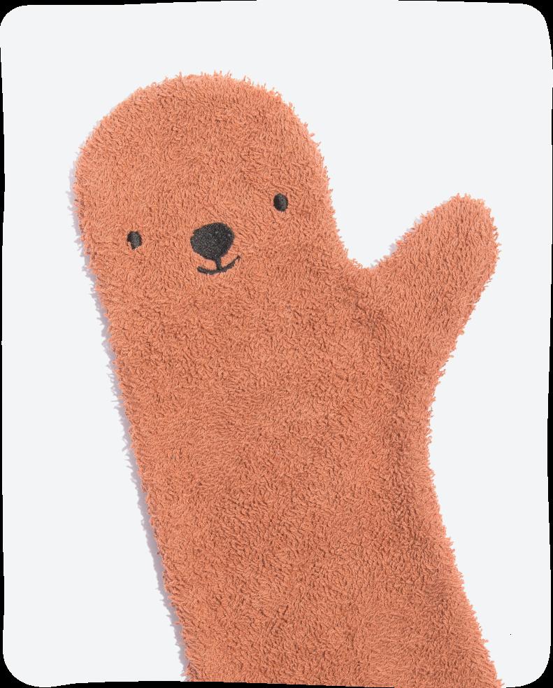 Invented 4 Kids Shower Brown Bear