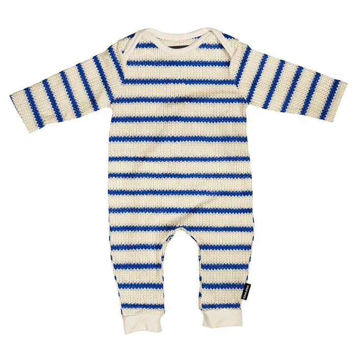 Snurk Snurk - Breton blue jumpsuit babies