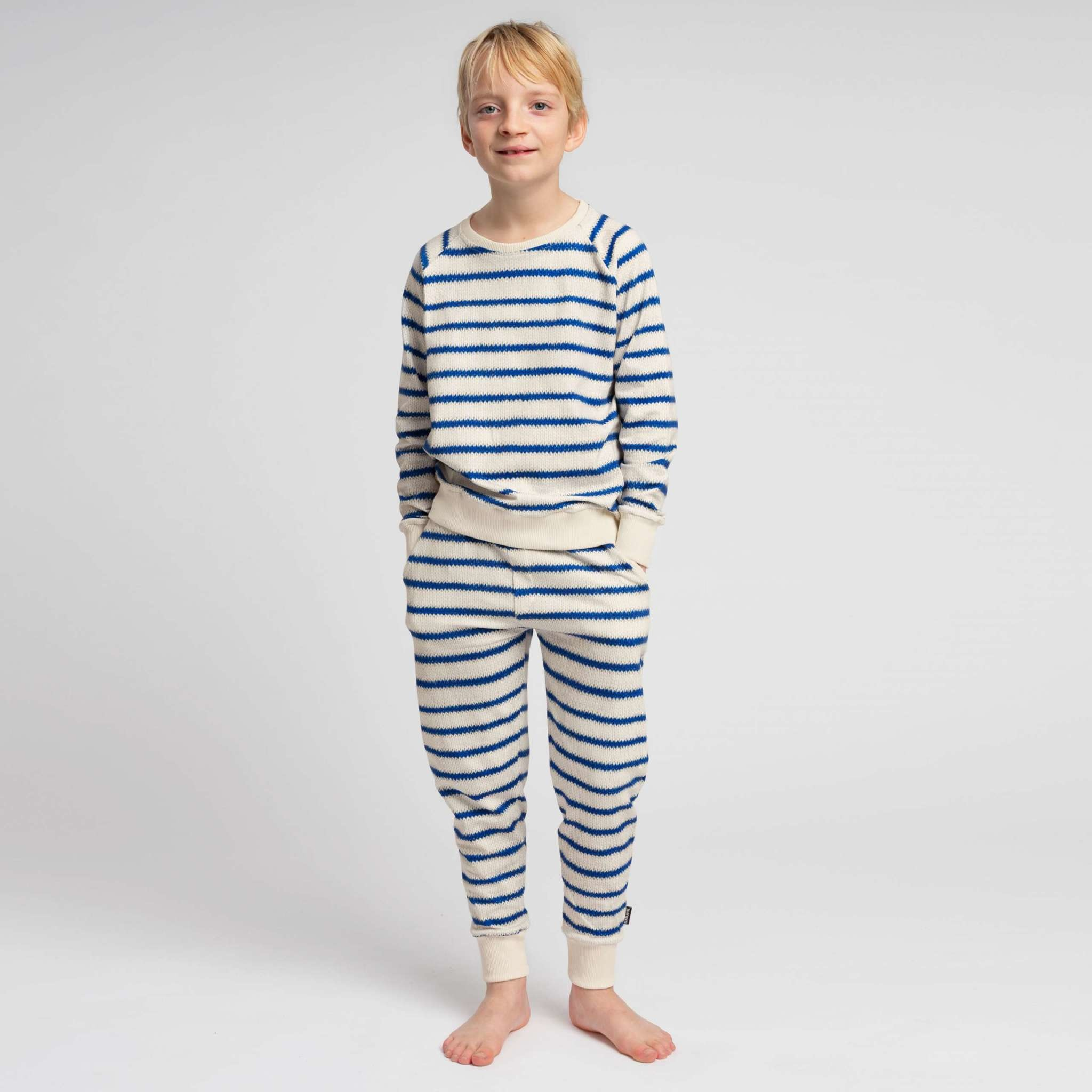 Snurk Snurk - Breton blue pants kids