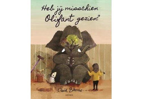 Boek - Prentenboek Heb jij misschien olifant gezien?
