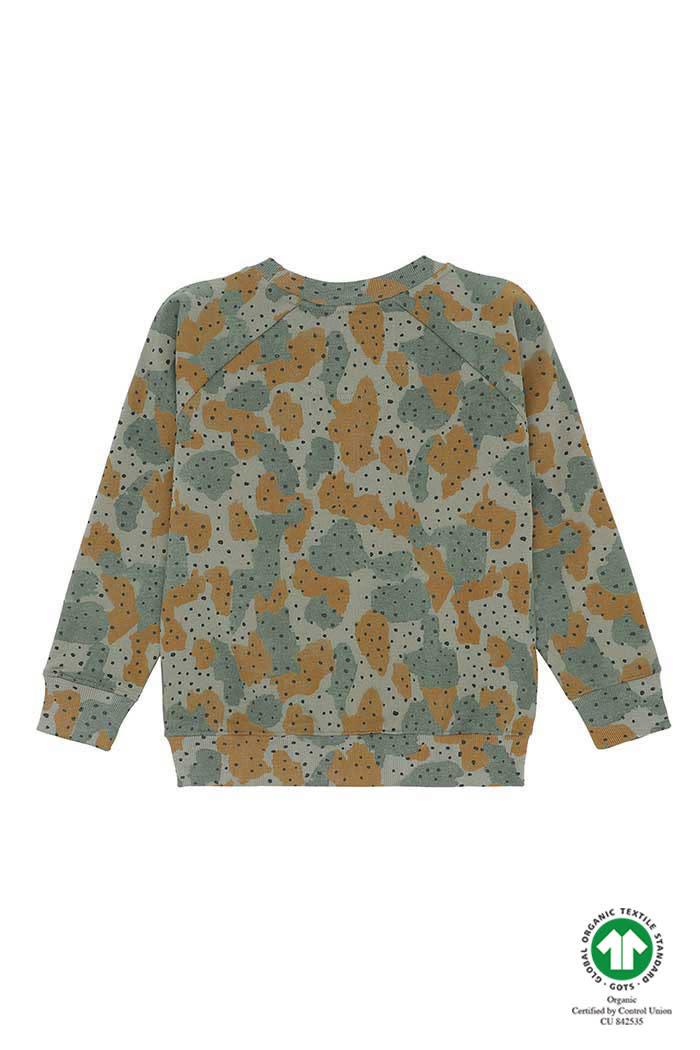 Soft Gallery Soft gallery - Chaz sweatshirt vetiver aop cameodot