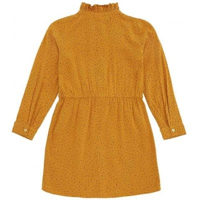Soft Gallery Soft gallery - Electra dress inca gold aop trio dotties