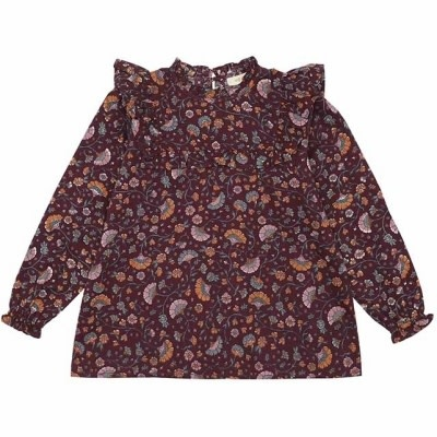 Soft Gallery Soft gallery - Gaxine shirt port royale aop flower