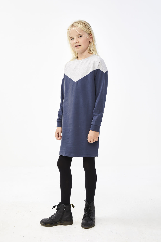 By-Bar By-bar - Bonne two color dress indigo blue