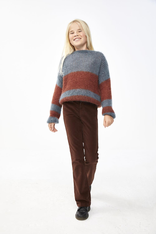 By-Bar By-bar - Leila velvet pant brown